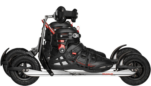 Nordic Cross Skates Powerslide XC Path Powerslide XC Path Set with KV+ Campra Poles