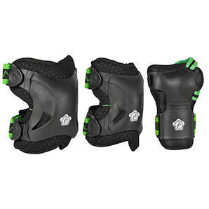 "Knee and Ellbow Protection Set ""Phuzion"" by Powerslide"