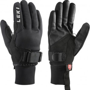 Leki Shark XC Glove with click in system